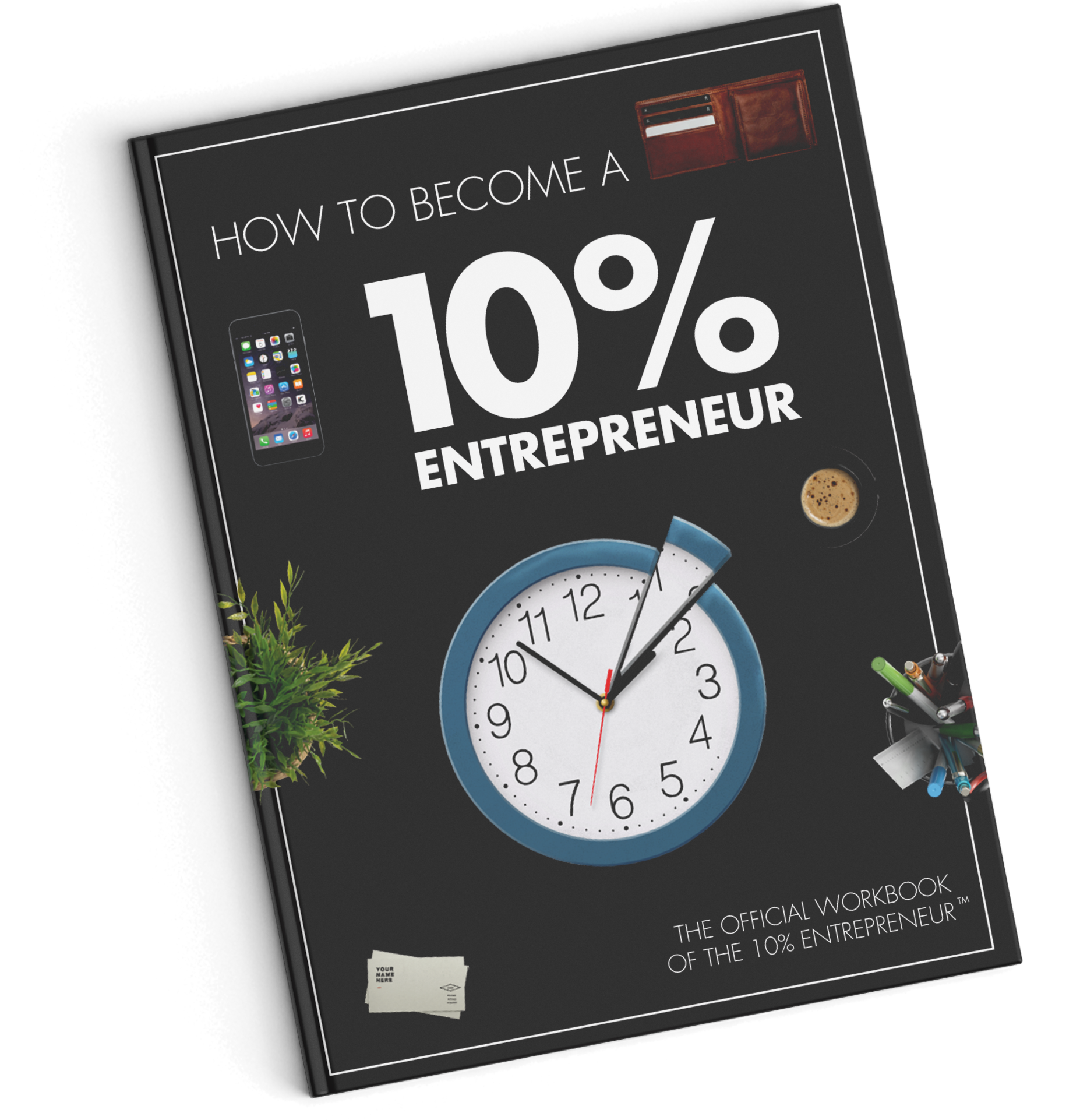 How to Become a 10% Entrepreneur Ebook Cover